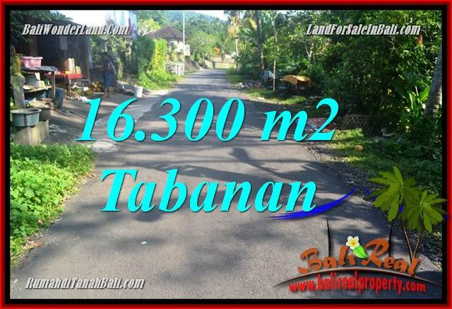 Magnificent 16,300 m2 LAND FOR SALE IN TABANAN TJTB361