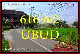 Cheap Property 616 sqm LAND in Ubud Center BALI FOR SALE TJUB650