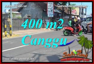 CANGGU BRAWA BALI 400 m2 LAND FOR SALE TJCG224