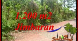 Affordable PROPERTY 1,200 m2 LAND SALE IN JIMBARAN ULUWATU BALI TJJI128A