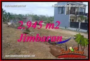 Exotic PROPERTY 2,945 m2 LAND SALE IN JIMBARAN TJJI132
