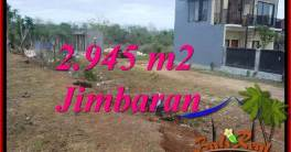Exotic PROPERTY 2,945 m2 LAND SALE IN JIMBARAN TJJI132
