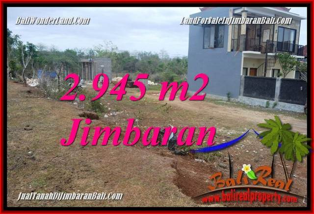 FOR SALE Exotic PROPERTY 2,945 m2 LAND IN JIMBARAN UNGASAN BALI TJJI132