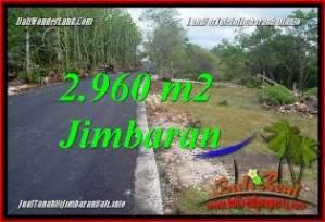 Magnificent 2,960 m2 LAND IN JIMBARAN UNGASAN BALI FOR SALE TJJI133A