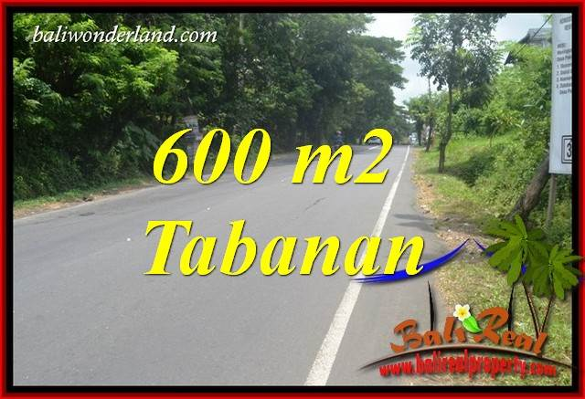FOR sale Magnificent 600 m2 Land in Tabanan Bali TJTB401