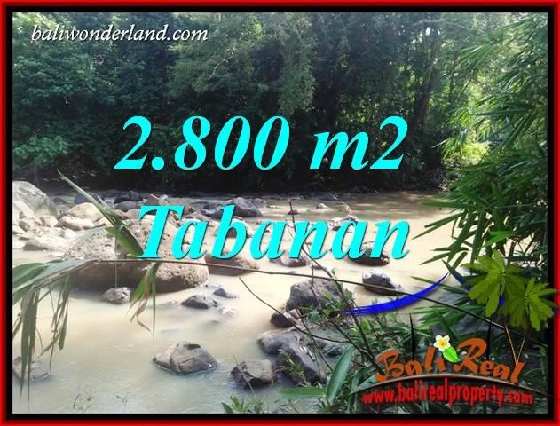 Land sale in Tabanan Selemadeg Bali TJTB411