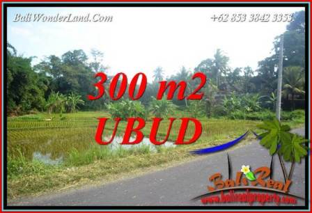 Exotic 300 m2 Land in Sentral Ubud Bali for sale TJUB730