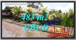 483 m2 LAND FOR SALE IN UBUD BALI TJUB752
