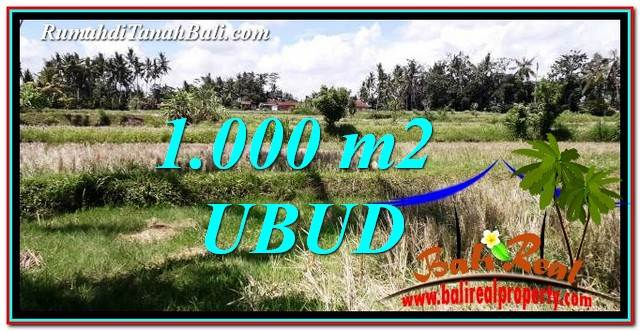 FOR SALE Magnificent LAND IN UBUD TJUB760