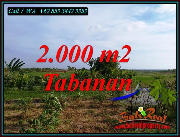 Exotic PROPERTY KERAMBITAN TABANAN LAND FOR SALE TJTB492