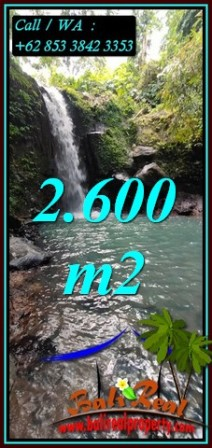 Magnificent 2,600 m2 LAND SALE IN SELEMADEG BALI TJTB477