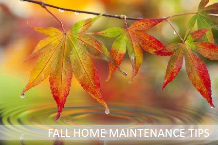 fall home maintenance tips to save you money