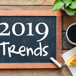 2019 Multifamily Marketing Trends On Chalk Board