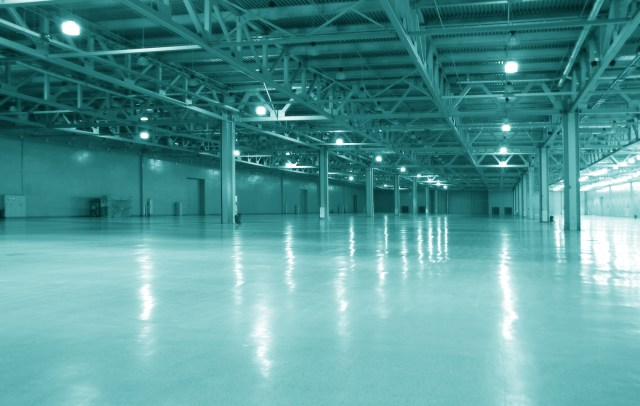 Warehouse with Epoxy Floor Coating For Benefits of Commercial Floor Coatings for Property Managers Blog