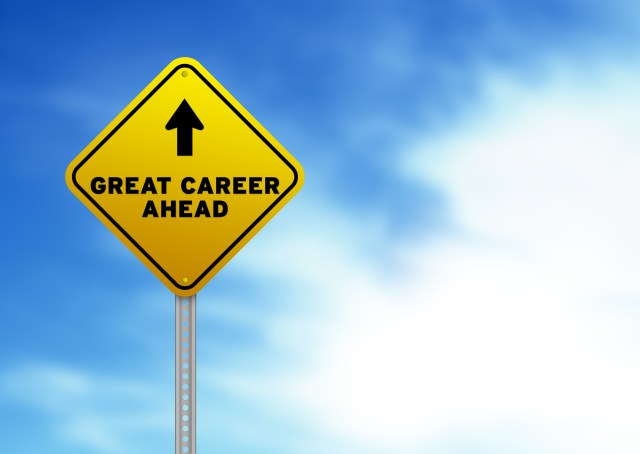 Property Management Career Paths Great Careers Ahead On Yellow Traffic Sign