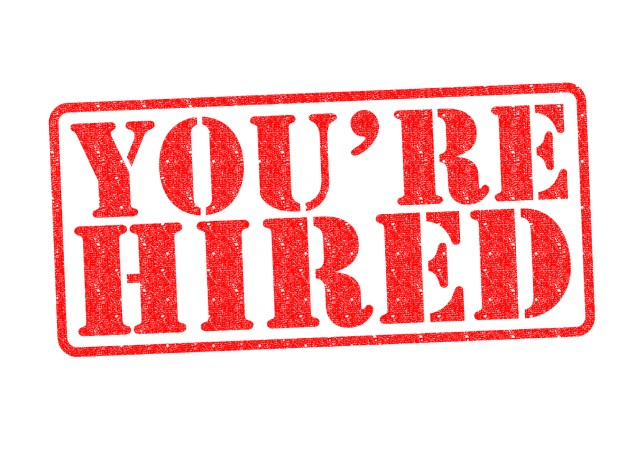 You're Hired Red Stamp After Finding A New Property Management Job During CoronaVirus Pandemic