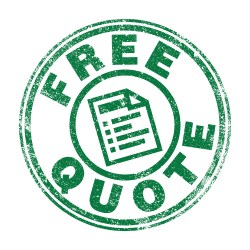 Free Quote Stamp In Green For Property Manager Insider BidSource