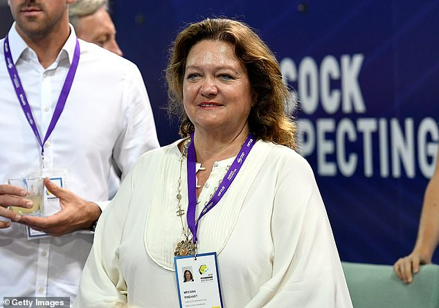 AUSTRALIA: Gina Rinehart tops the Australian Forbes Rich List AGAIN as it's revealed she's worth $20BILLION – as a very surprising person scrapes the top 20