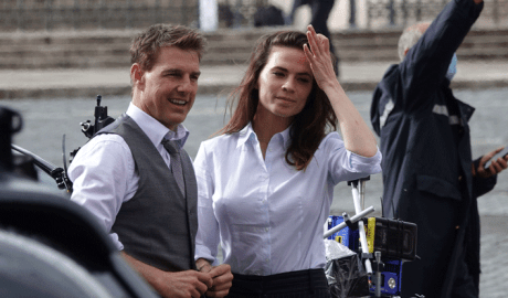 Mission Impossible 7: Tom Cruise & Hayley Atwell