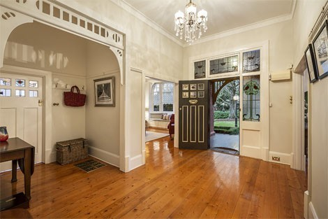 Original leadlight, beautiful period arch, ceilings, floor and picture rails all maintained