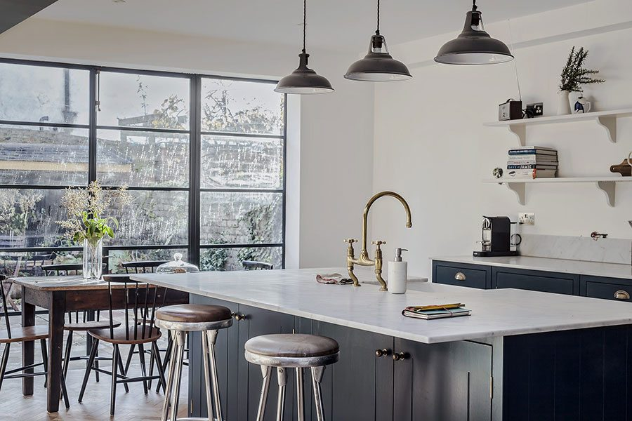 how to create an indoor outdoor kitchen