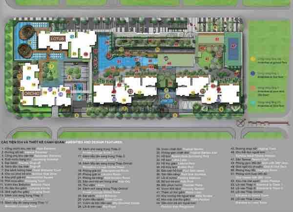 Vista Verde @ Vietnam Site Plan