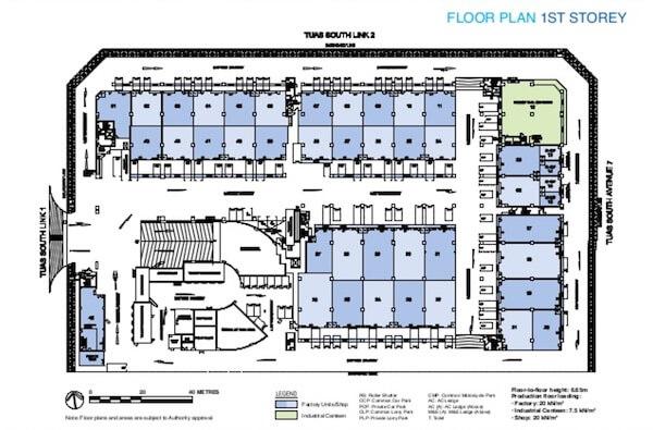 Shine @ Tuas Floor Plan