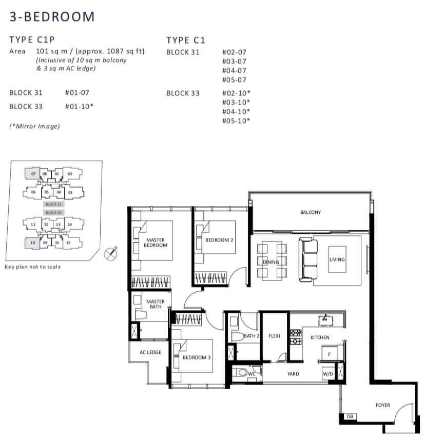 The Lilium Floor Plan Showflat Hotline 6100 1778