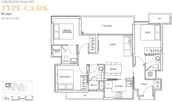Arena Residences Floor Plan