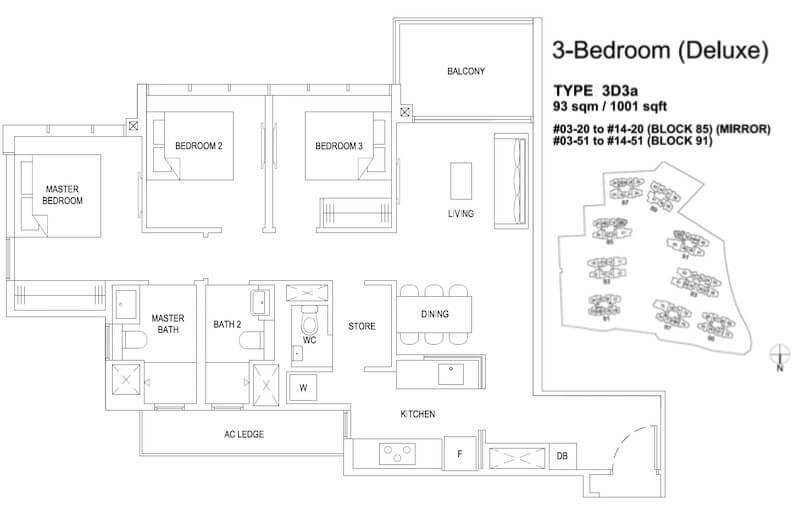 Florence Residences Floor Plan