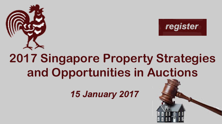 2017 Singapore Property Strategies and Opportunities in Auctions