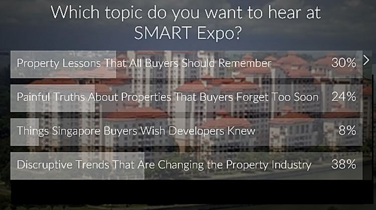 Quick Poll: Presentation Topic at SMART Expo