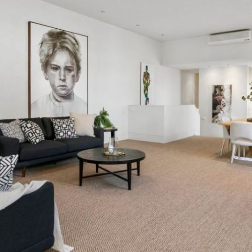After Property Styling St Kilda Living Dining Room