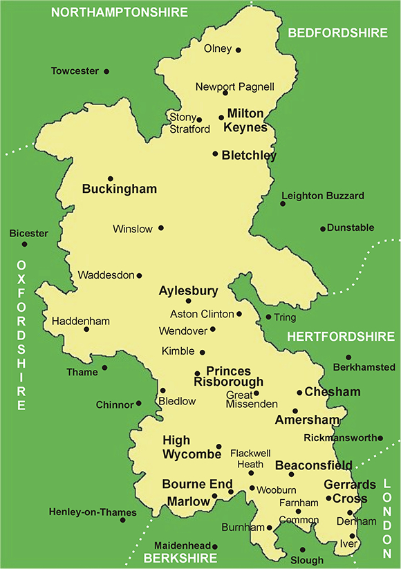 Image result for stony stratford buckinghamshire map