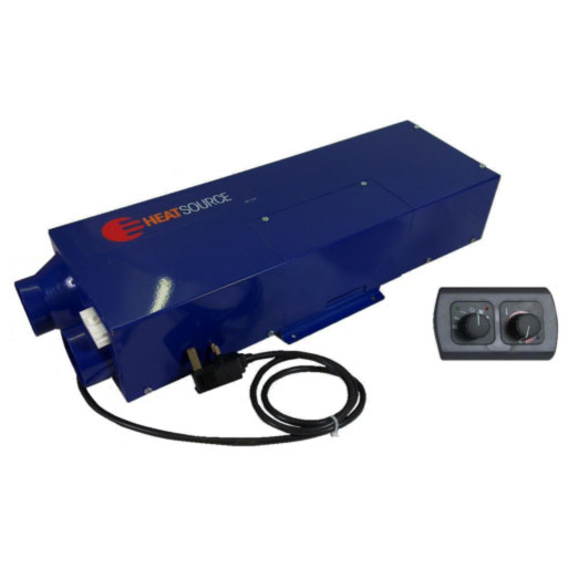 Propex HS2000E Heater - Gas and Mains Electric blown air space heater