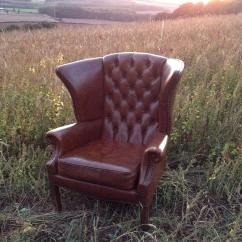 Wedding Chair Cover Hire Chesterfield Ikea Covers Ebay Brown Wingback The Prop Factory Sustainable For Events Weddings And Parties