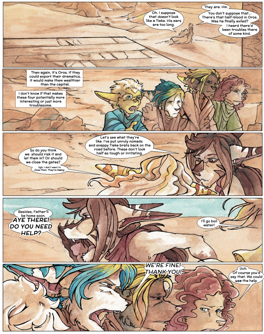 Chapter Three: Jahrd's Story: Page 3