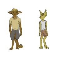 Tarsin and Kilm by chuckyzoopa@DeviantArt