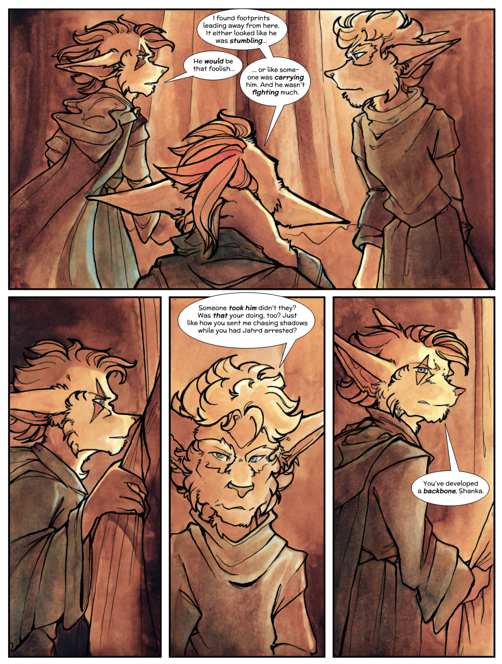 Chapter Three: Jahrd's Story: Page 76
