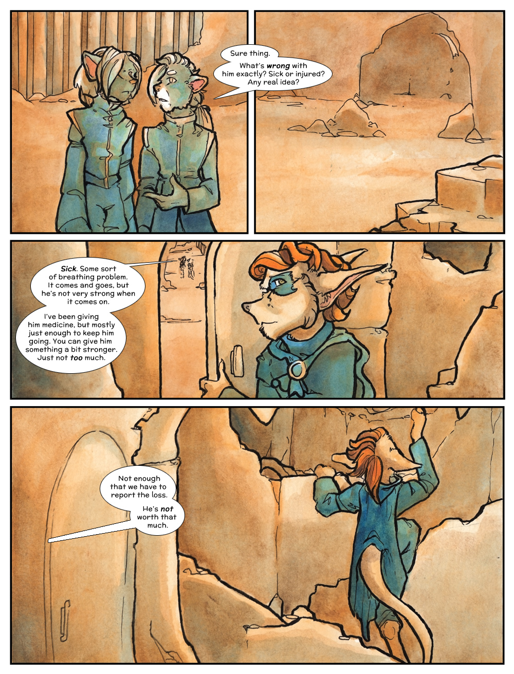 Chapter Three: Jahrd's Story: Page 149