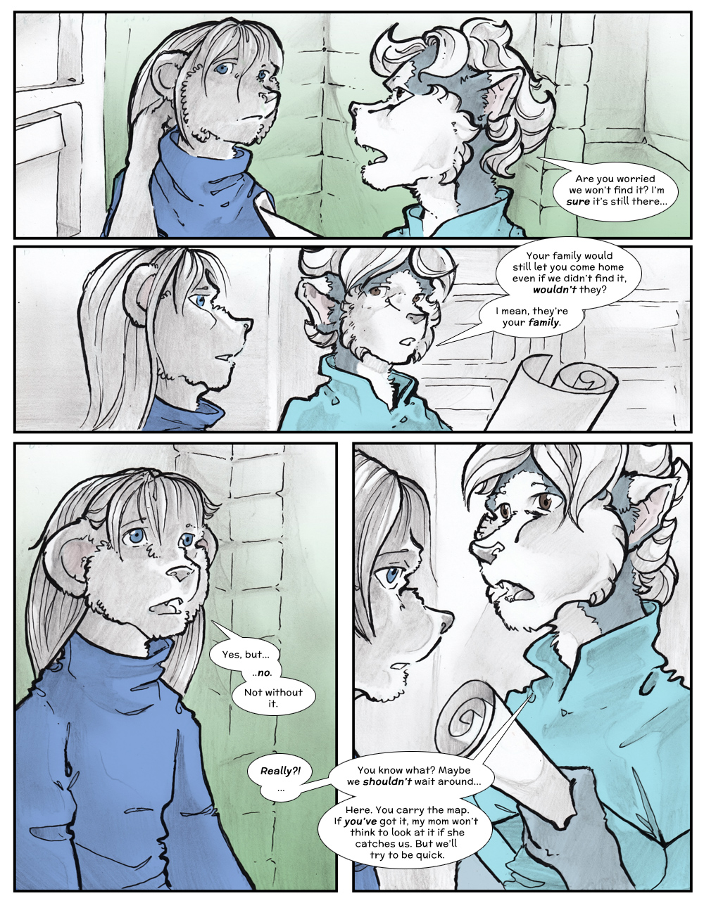 Chapter Three: Jamet's Story: Page 167