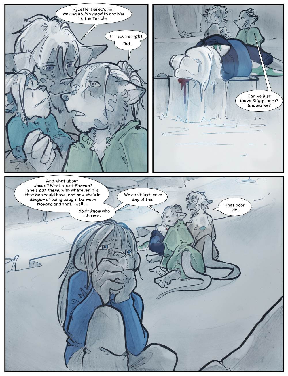 Chapter Three: Jamet's Story: Page 202