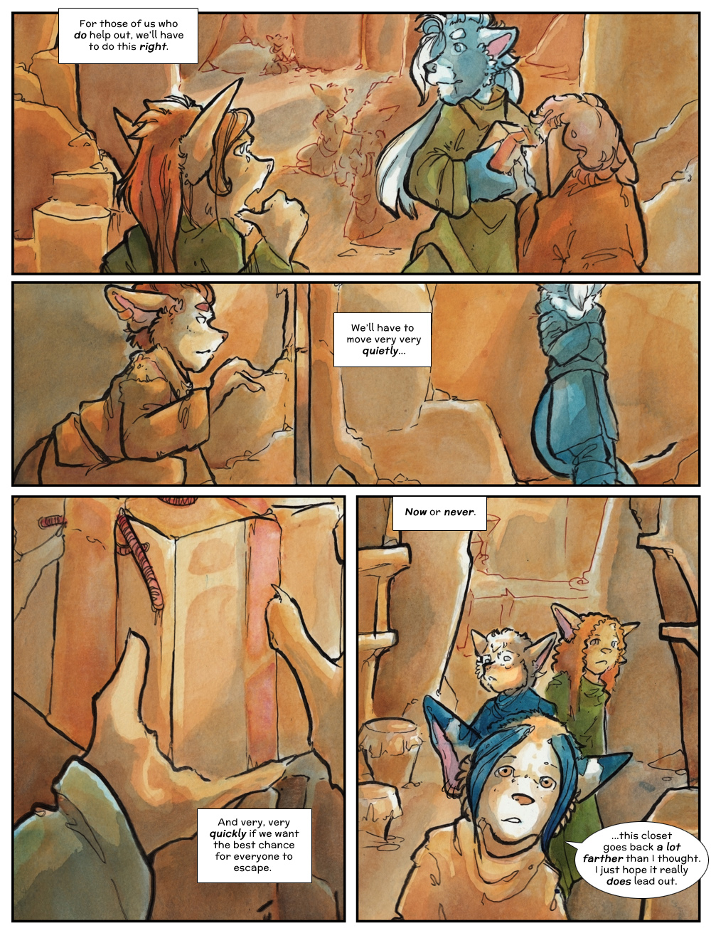Chapter Three: Jahrd's Story: Page 221