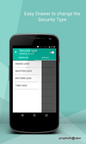 knocklock  Android Screen