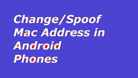 change-mac address-android