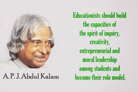 APJ Abdul Kalam Inspirational Quotes
