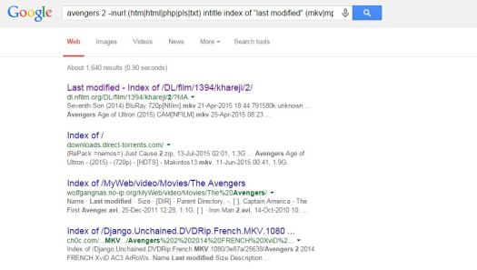 direct download link of any movie from google