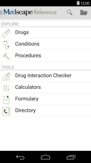 Medscape Android App