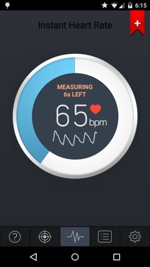 Heart Rate Monitor Android App