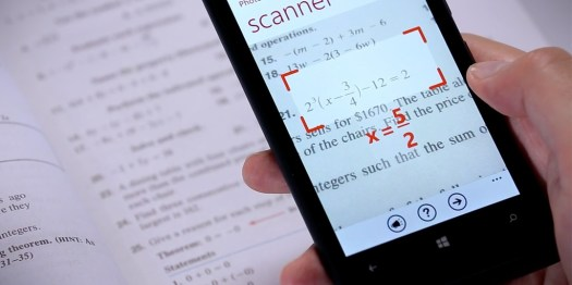Solve Math Problem from Android Camera with the help of photomath android app